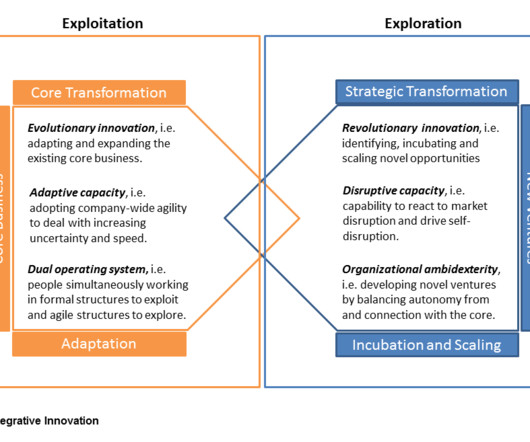 Agile business innovation brief organizational agility entails complementary innovation fandeluxe Choice Image